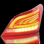 Laser plastic welding automotive tail lamp