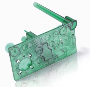 Laser Plastic Welded Microfluidic Device